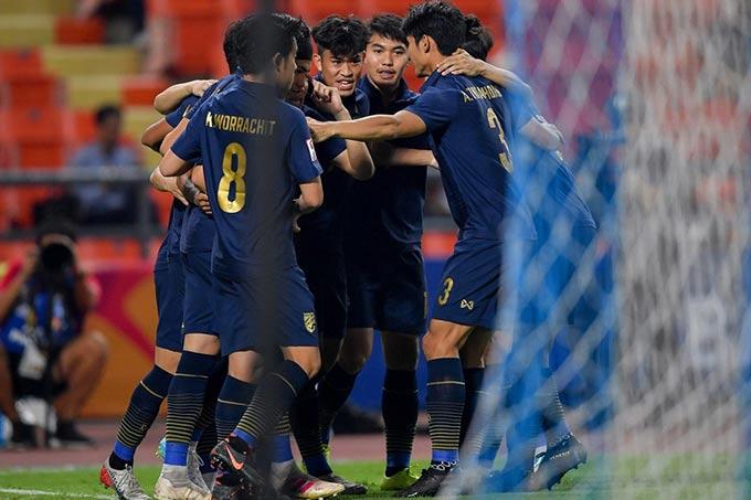 U23 Thái Lan đã thể hiện bộ mặt tích cực ở VCK U23 châu Á 2020