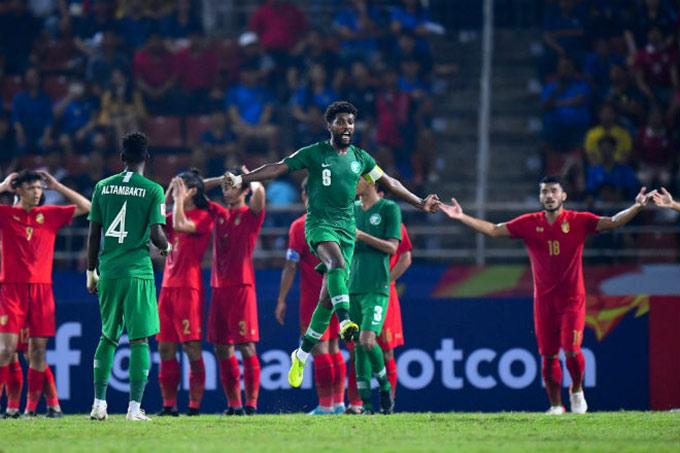 U23 Thái Lan thua sát nút U23 Saudi Arabia