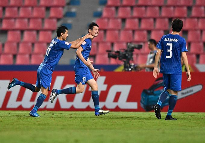U23 Uzbekistan xuất sắc vào tứ kết