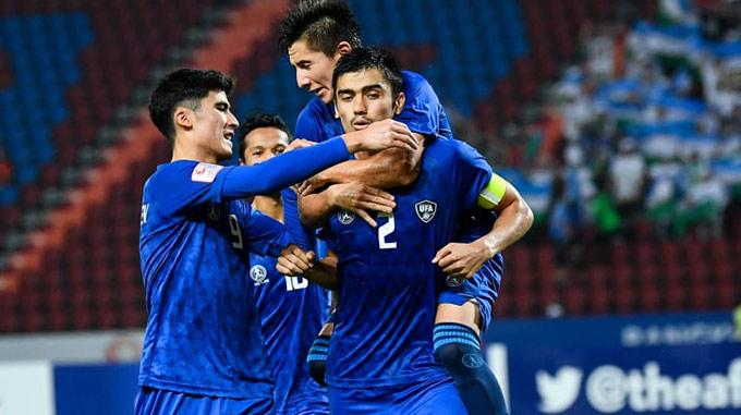 U23 Uzbekistan thắng đậm U23 UAE để vào bán kết, qua đó tiến gần đến Olympic 2020