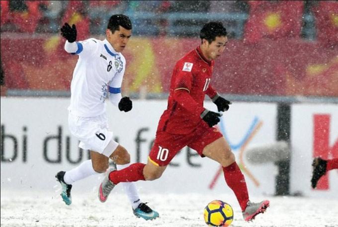 U23 Uzbekistan từng vất vả thắng U23 Việt Nam dưới mưa tuyết 2 năm về trước