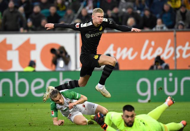 Haaland tỏa sáng ngay trong trận ra mắt Dortmund
