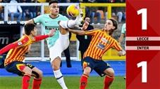 Lecce 1-1 Inter(Vòng 20 Seri A 2019/20)