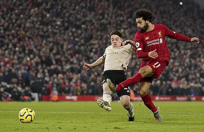 Salah ấn định chiến thắng