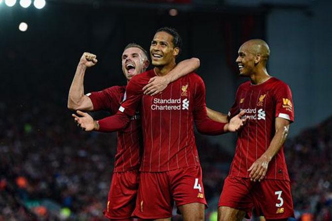 Liverpool đang băng băng về đích