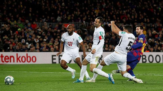 Pha làm bàn duy nhất của Messi giúp Barca bỏ túi 3 điểm