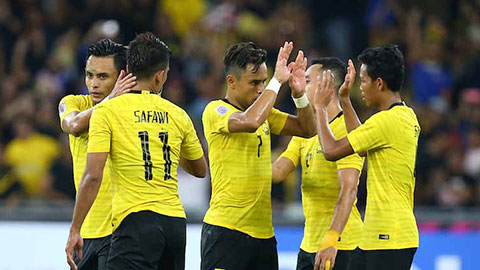 Malaysia gặp quân xanh mạnh trước khi đấu Việt Nam ở vòng loại World Cup 2022