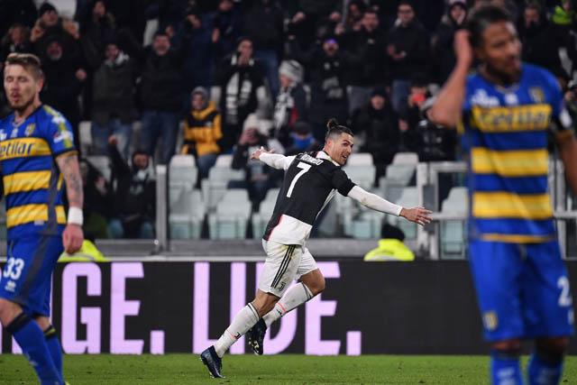 Ronaldo vẫn đang là cây ghi bàn số 1 của Juventus tại Serie A 2019/20