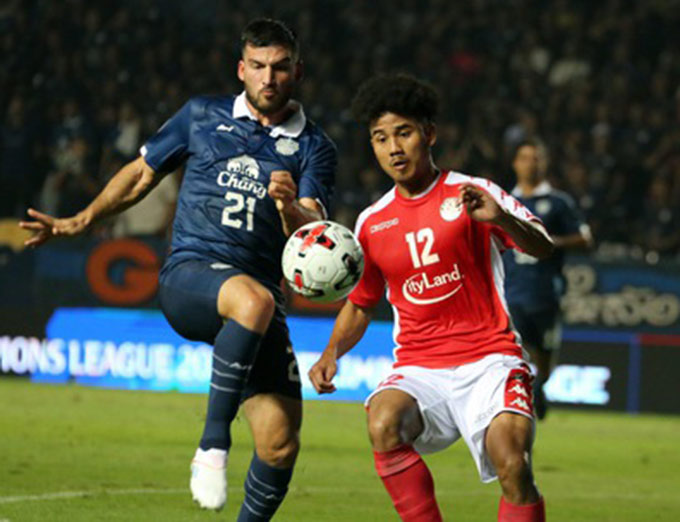 TP.HCM thua Buriram ở vòng sơ loại AFC Champions League