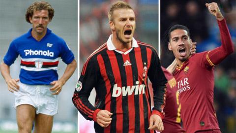 """Ashley Young và 10 cầu thủ người Anh từng """"công phá"""" Serie A"""