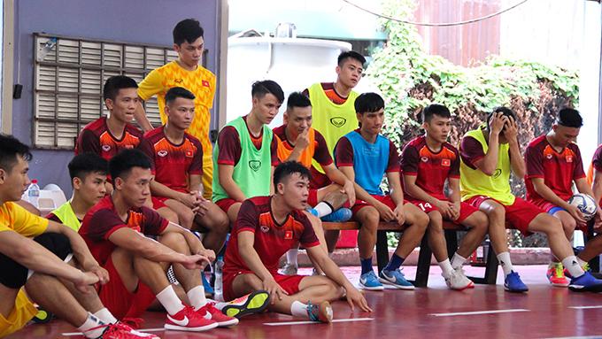 ĐT futsal Việt Nam chỉ nghỉ Tết 4 ngày