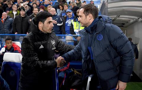 Arteta chưa thể giúp Arsenal cắt đứt chuỗi trận nghèo nàn của Arsenal trên sân Stamford Bridge