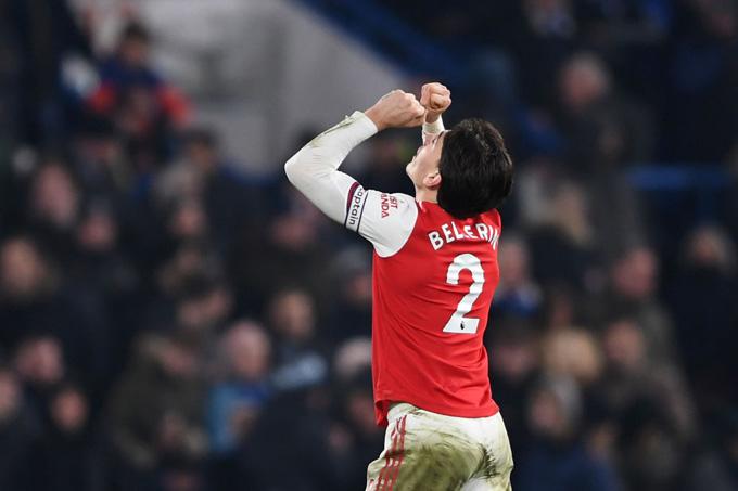 Nhưng Bellerin đã tỏa sáng để có bàn ấn định tỷ số 2-2