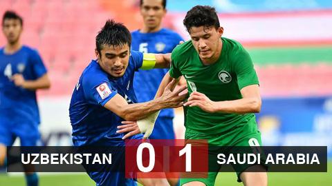 Kết quả U23 Uzbekistan 0-1 U23 Saudi Arabia: Nhà vua U23 châu Á bị truất ngôi