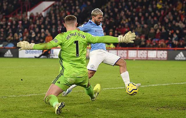 Aguero vào sân và mang về chiến thắng cho Man City