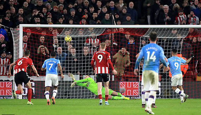 Henderson đã có trận đấu ấn tượng trước Man City