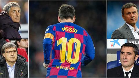 """Quyền lực của Messi là lý do Barca không """"bắt tay"""" với những HLV danh tiếng"""