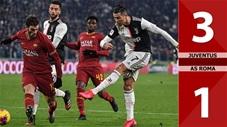 Juventus 3-1 AS Roma(Vòng 20 Seri A 2019/20)