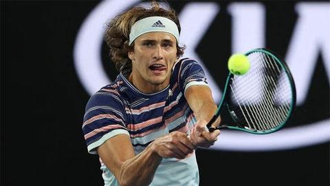 Zverev 3-0 Gerasimov (vòng 2 Australian Open 2020)