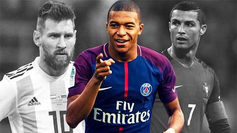 Tại sao Mbappe xem Ronaldo chứ không phải Messi là nguồn cảm hứng?