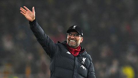 Klopp suýt nôn oẹ khi được hỏi về cơ hội vô địch sớm của Liverpool