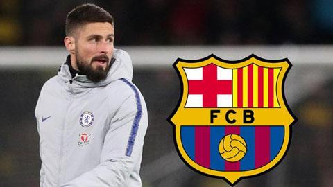 Điểm tin chuyển nhượng 25/1: Barca mua gấp Giroud thay Luis Suarez