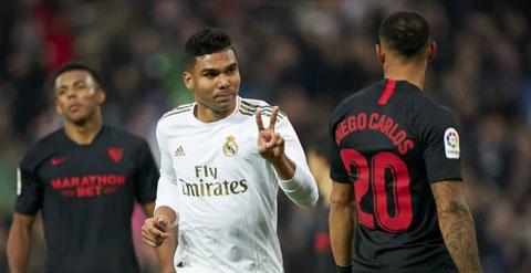 Casemiro và các đồng đội đang tự tin hướng tới trận thắng trước Valladolid