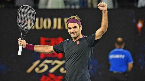 Australia Open 2020 ngày 5: Federer thoát hiểm nghẹt thở
