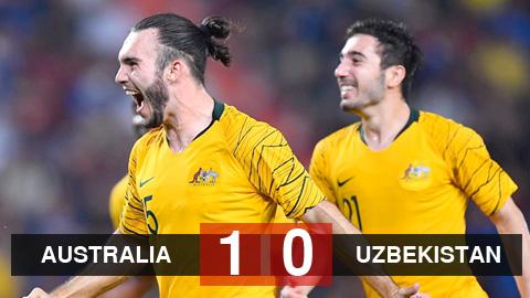 Kết quả U23 Australia 1-0 U23 Uzbekistan: D'Agostino đưa Australia tới Olympic 2020