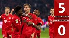 Bayern Munich 5-0 Schalke 04(Vòng 19 Bundesliga 2019/20)