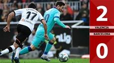 Valencia 2-0 Barcelona(Vòng 21 La Liga 2019/20)