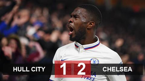 Kết quả Hull City 1-2 Chelsea: The Blues nhẹ nhàng giành vé