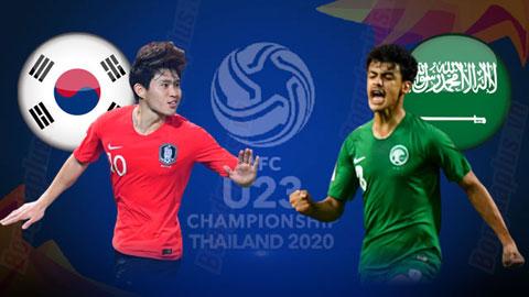 U23 Hàn Quốc vs U23 Saudi Arabia, 19h30 ngày 26/1: Ngôi vô địch cho Hàn Quốc