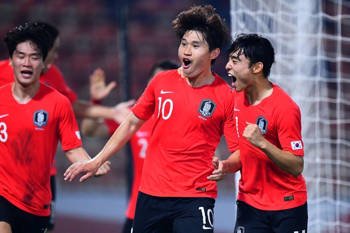 U23 Hàn Quốc đứng trước cơ hội vô địch U23 châu Á