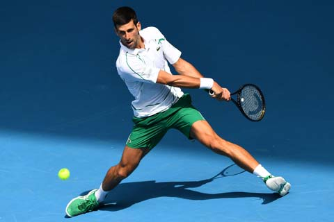 Djokovic lần thứ 11 vào tứ kết Australian Open