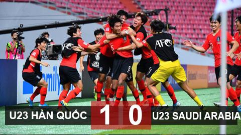U23 Hàn Quốc 1-0 U23 Saudi Arabia: U23 Hàn Quốc lần đầu vô địch U23 châu Á sau 2 hiệp phụ
