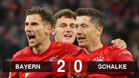 Kết quả Bayern 5-0 Schalke: Đại thắng Schalke, Bayern thổi hơi nóng vào RB Leipzig