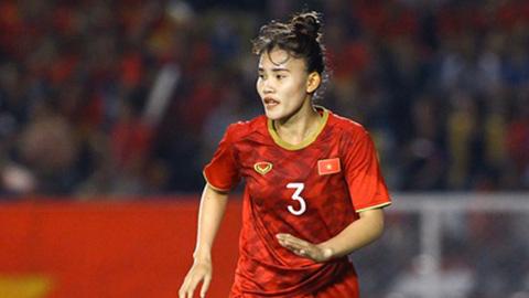 ĐT nữ Việt Nam mất trung vệ được ví với Van Dijk ở vòng loại Olympic 2020