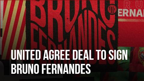 M.U thông báo có chữ ký của Bruno Fernandes