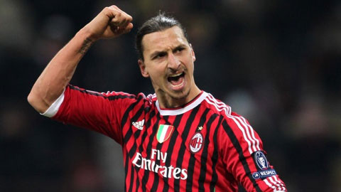 Milan hồi sinh trở lại nhờ 'chúa Ibra'
