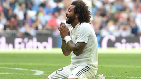 Thời gian của Marcelo tại Real Madrid sắp hết