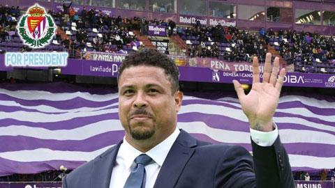 Ronaldo, 'người ngoài hành tinh' ở Valladolid