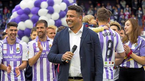 Ông chủ Ronaldo đang giúp Valladolid chuyển mình