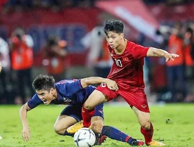 ĐT Thái Lan lép vế trước Việt Nam ở giai đoạn 2018-2019
