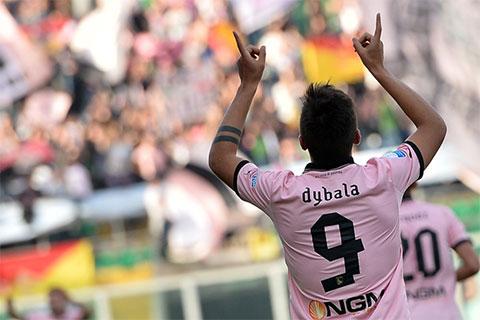 Dybala đã có những trải nghiệm quý giá khi khoác áo Palermo