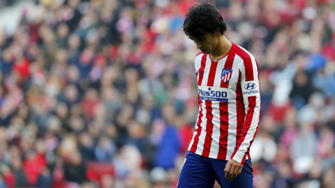 Dính chấn thương, Joao Felix lỡ hẹn derby Madrid