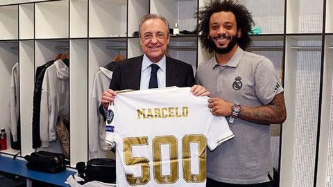 Cán mốc 500 trận cho Real, Marcelo xứng danh truyền nhân Roberto Carlos