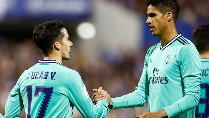 Cả Vazquez và Varane đều có tên trên bảng tỷ số ở trận đại thắng của Real
