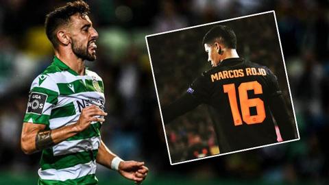 M.U tống khứ Rojo, dành áo số 16 cho Bruno Fernandes
