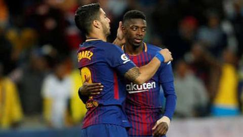 Barca không mua thêm tiền đạo vì đã có sẵn người thay Suarez